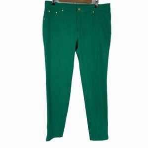 Iman Ankle-zip Skinny Jeans Size 14
